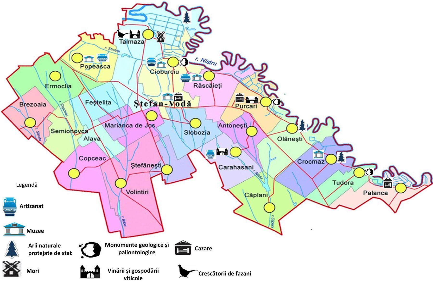 Harta Turistică Promovarea Turismului
